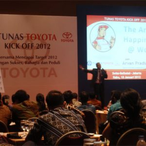 The Art of Happiness @ Work - TUNAS TOYOTA KICK OFF 2012